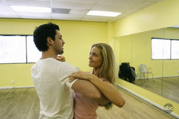 Denise Richards and Maksim Chmerkovskiy