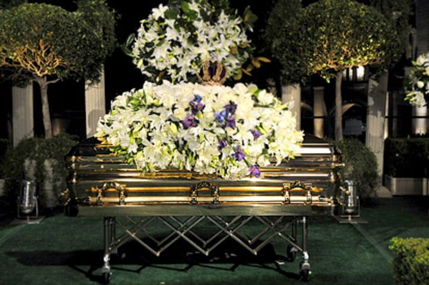Michael Jackson Laid to Rest