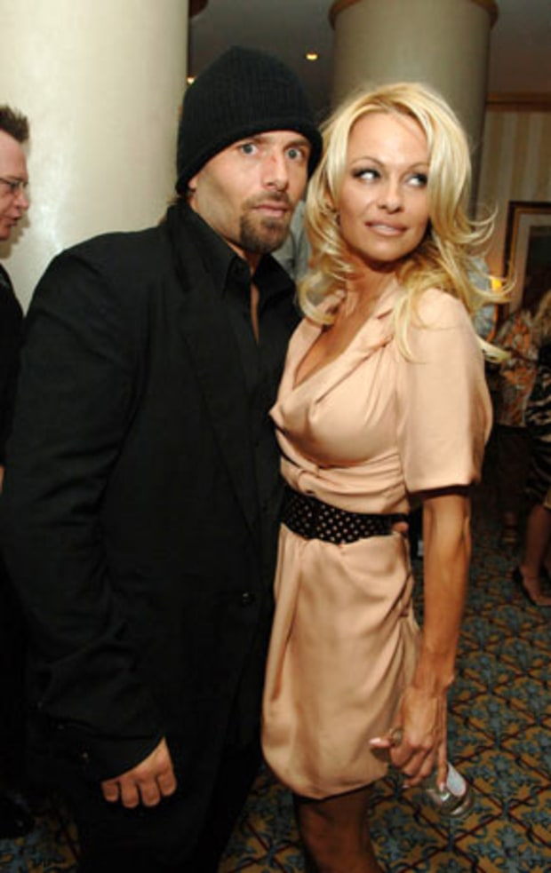 Pam Anderson and Rick Salomon