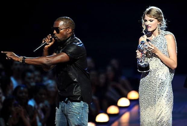 Kanye West Ambushes Taylor Swift
