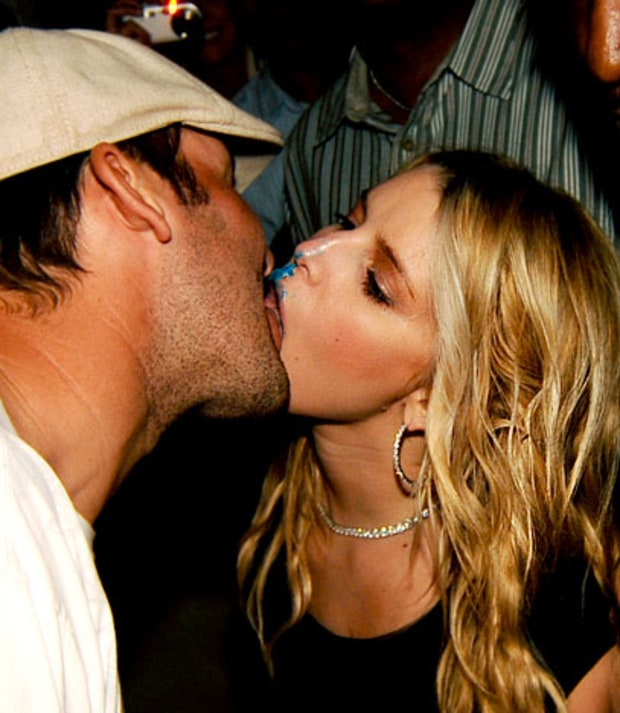 Jessica Simpson and Tony Romo