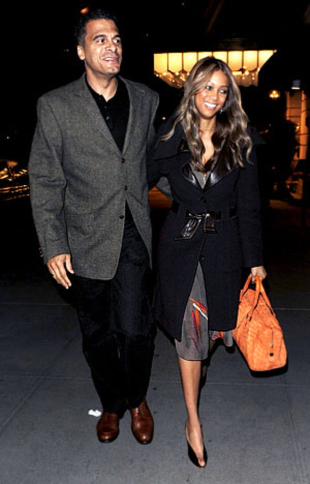 Tyra Banks and John Utendahl