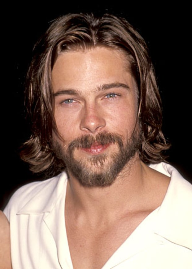 Grin And Beard It Brad Pitt S Bearded Looks Us Weekly