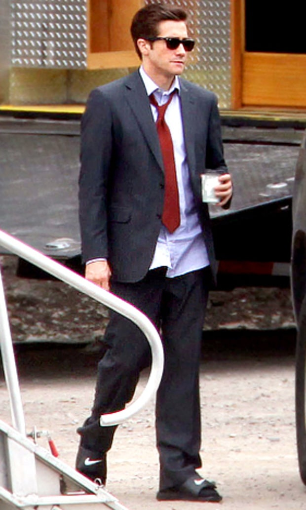 Suit and Sandals!