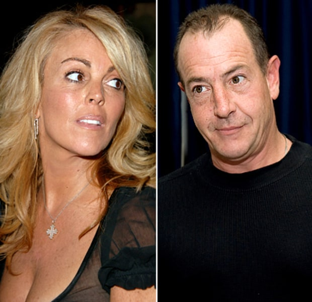 Dina and Michael Lohan
