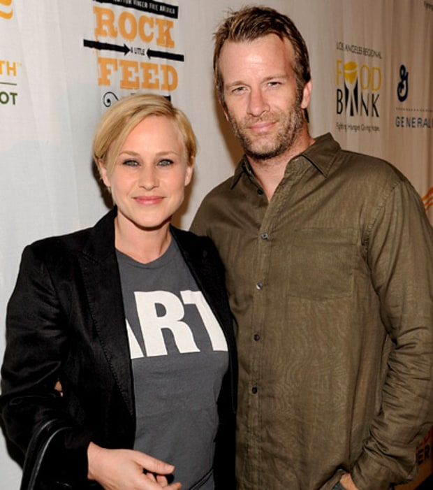 Patricia Arquette and Thomas Jane