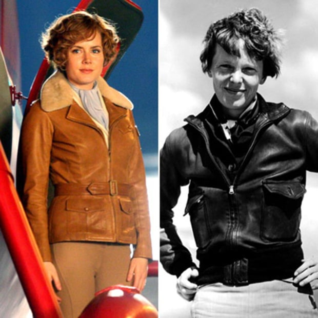 Amy Adams as Amelia Earhart