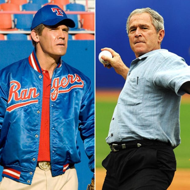 Josh Brolin as President George W. Bush