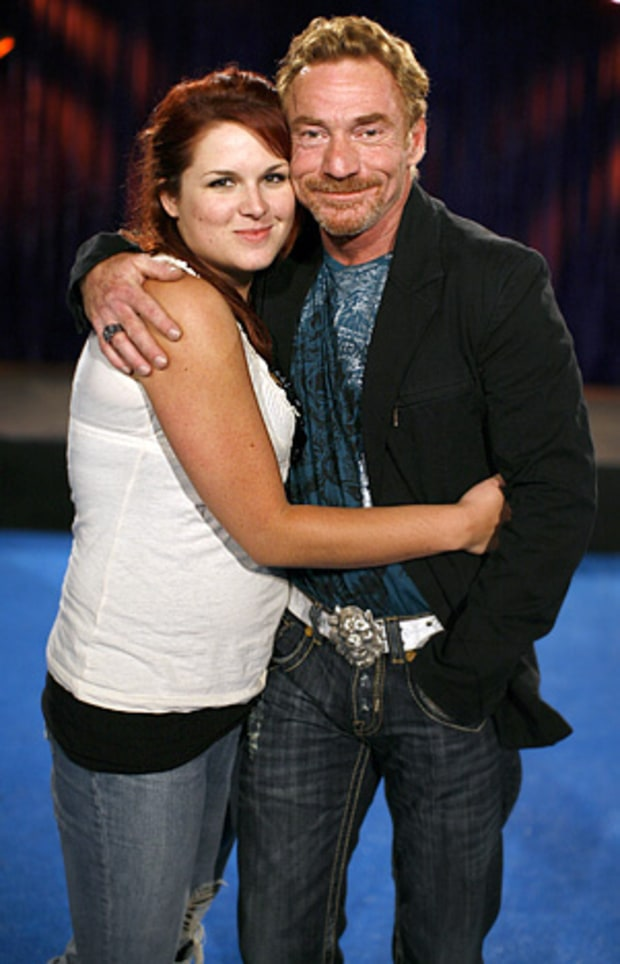 Amy Railsback and Danny Bonaduce