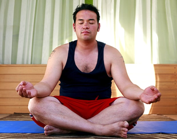 Striving for balance with the jnana mudra