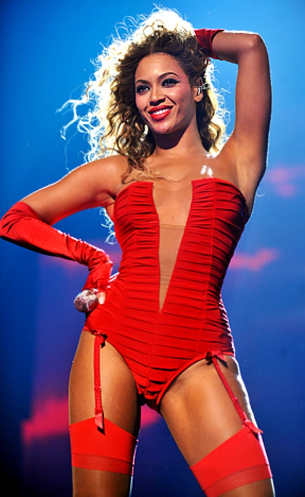 Beyonce's Red Hot!