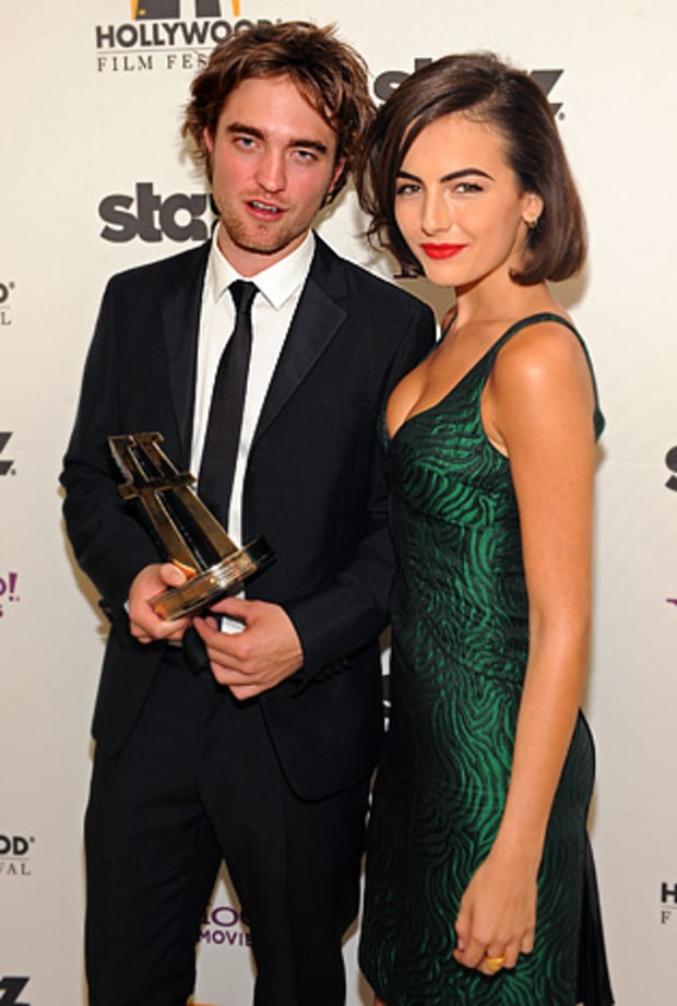 Robert Pattinson and Camilla Belle
