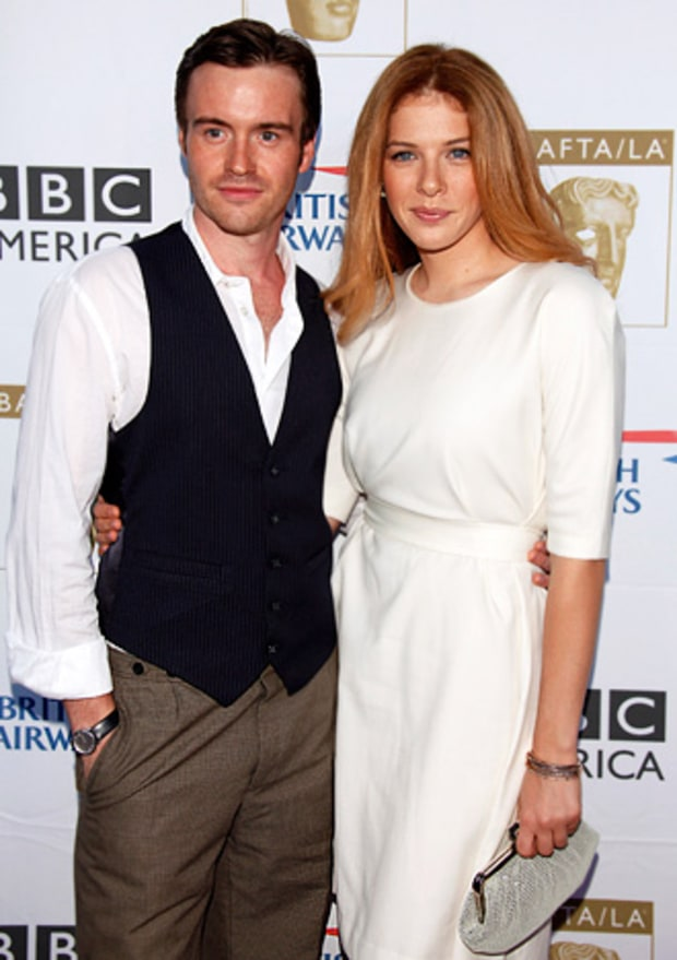 Rachelle Lefevre and Jamie Thomas King
