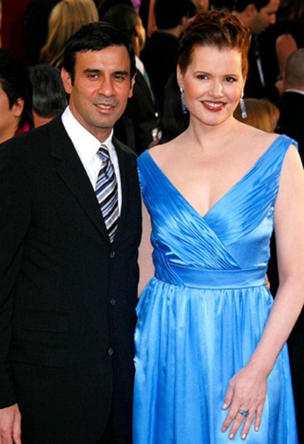 Dr. Reza Jarrahy and Geena Davis: 15 years