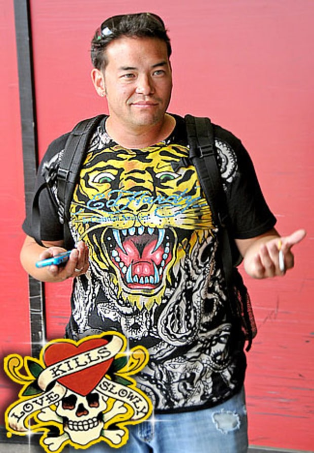 Jon Gosselin: ED HARDY CLOTHES