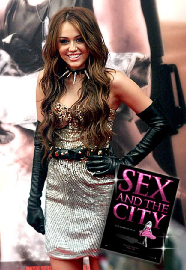 Miley Cyrus: SEX AND THE CITY
