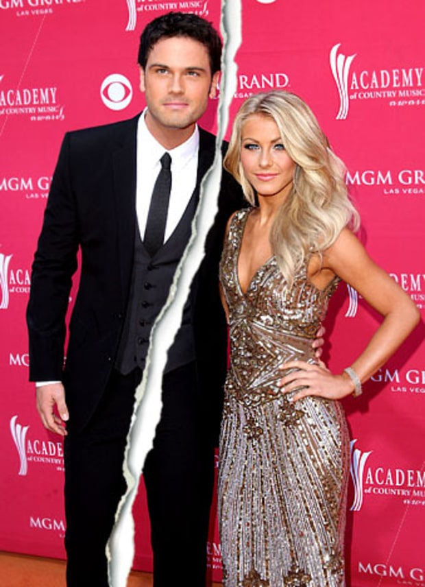 Julianne Hough and Chuck Wicks