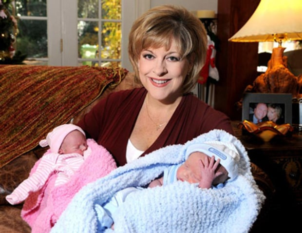 NANCY GRACE AND TWINS JOHN AND LUCY