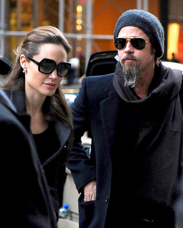 Brangelina Take Manhattan