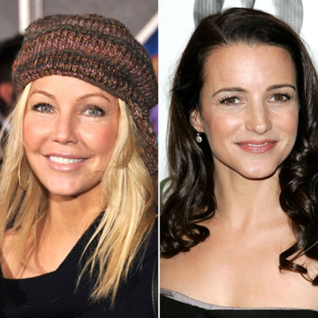 Heather Locklear and Kristin Davis: Now