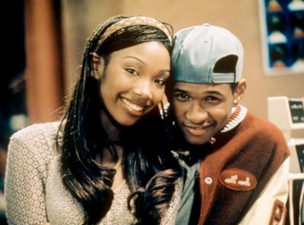 Brandy Norwood and Usher Raymond: Then