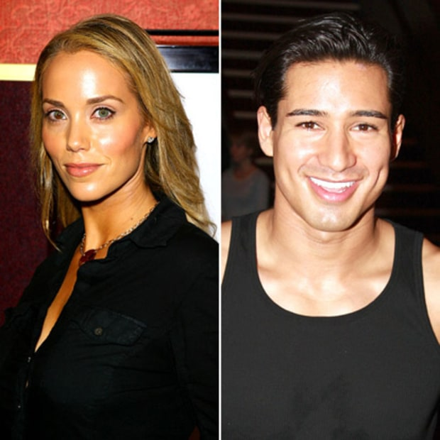 Elizabeth Berkley and Mario Lopez: Now