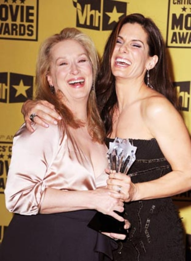 Cracking Up at Critics' Choice!