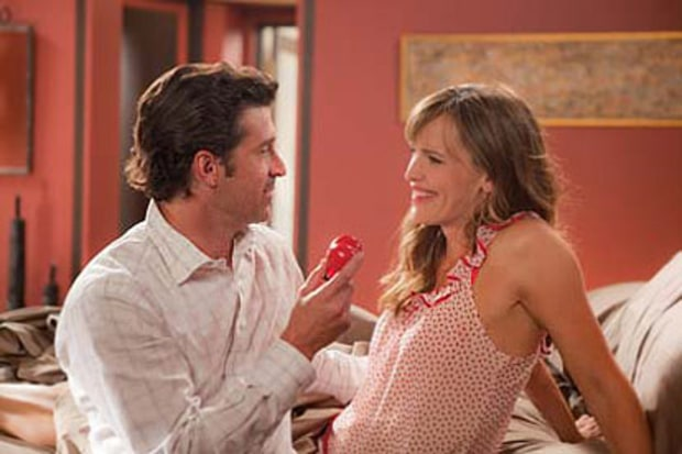 Patrick Dempsey and Jennifer Garner
