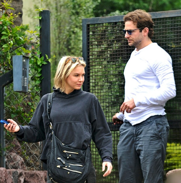 Renee Zelwegger and Bradley Cooper