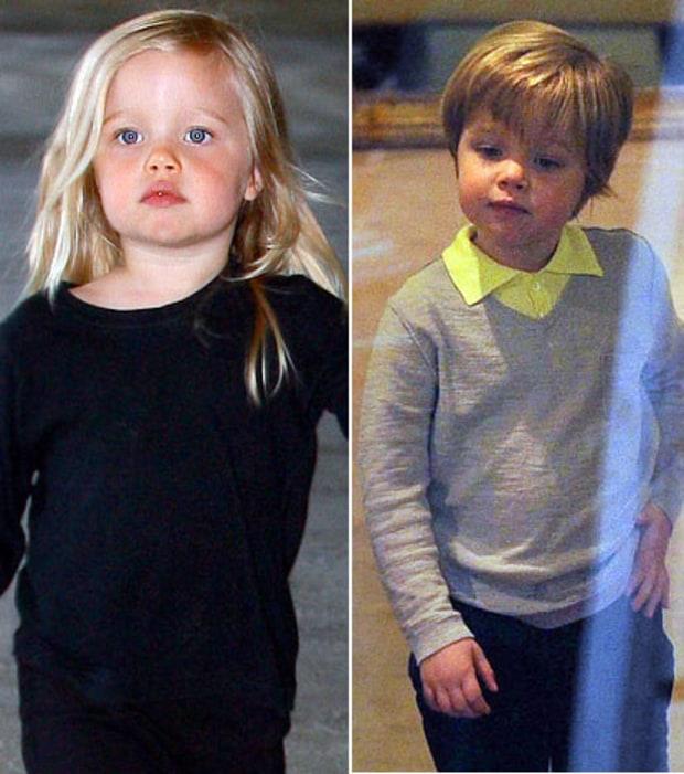 Shiloh Jolie Pitt Celeb Kids New Haircuts Us Weekly