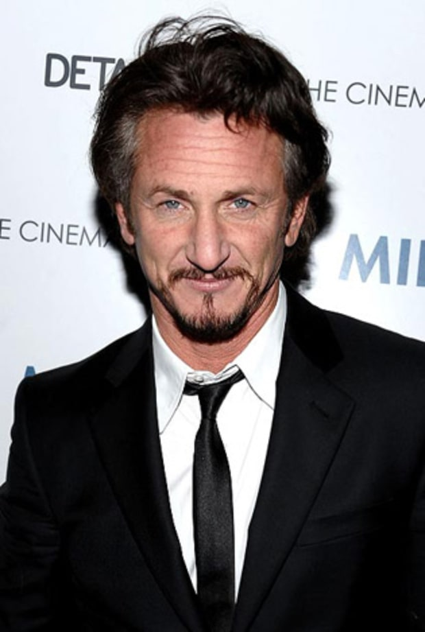 It's Sean Penn!