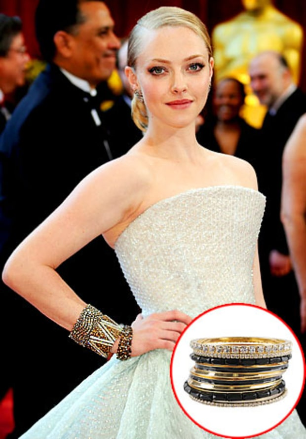 Oscar Trend: Stacked Bangles
