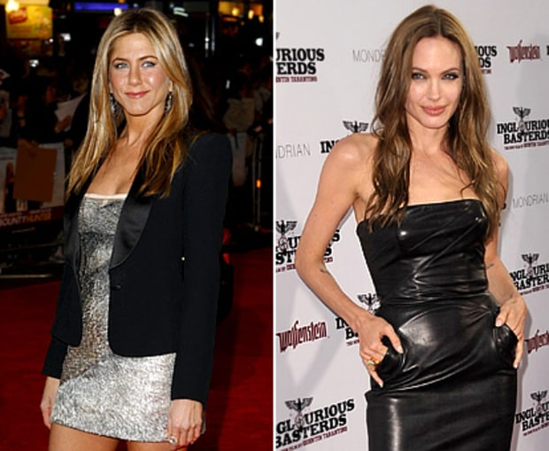 Jennifer Aniston vs. Angelina Jolie