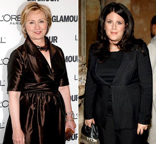 Hillary Clinton vs. Monica Lewinksy