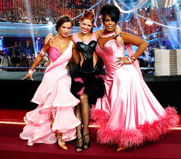 Anna Trebunskaya, Edyta Sliwinska and Niecy Nash
