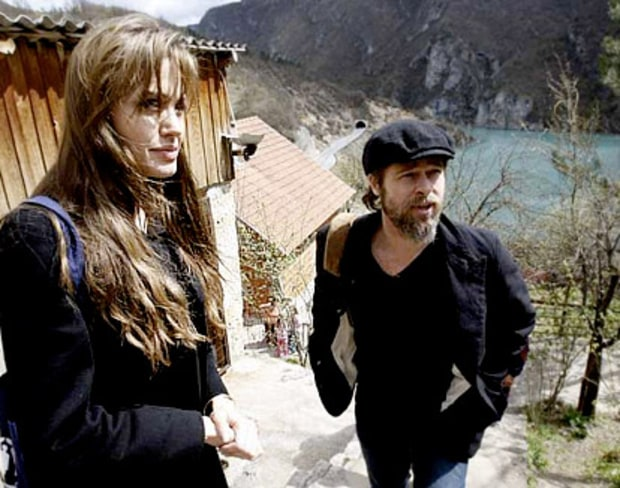 Angelina in Bosnia