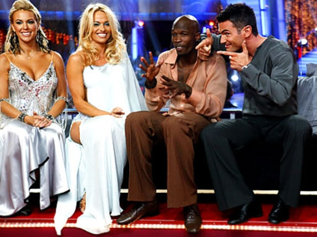 Kate Gosselin, Pam Anderson, Chad Ochocinco, Aiden Turner