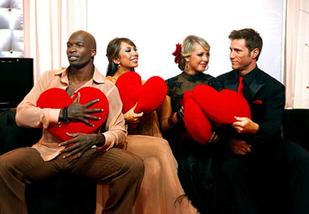 Chad Ochocinco, Cheryl Burke, Chelsie Hightower, Jake Pavelka