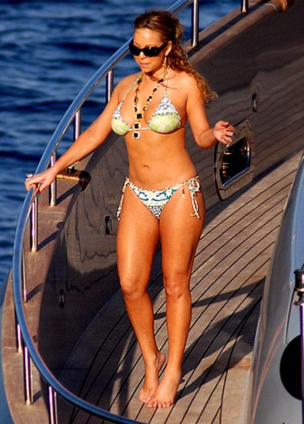 Mariah Carey Too Tight Bikinis Us Weekly