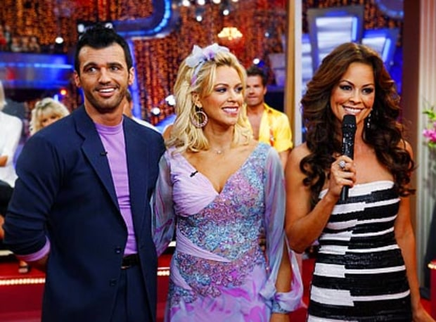 Kate Gosselin, Tony Dovolani, Brooke Burke