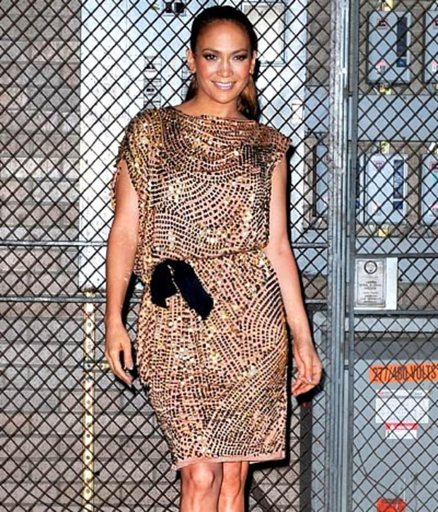 Lovely Lopez in Lanvin!