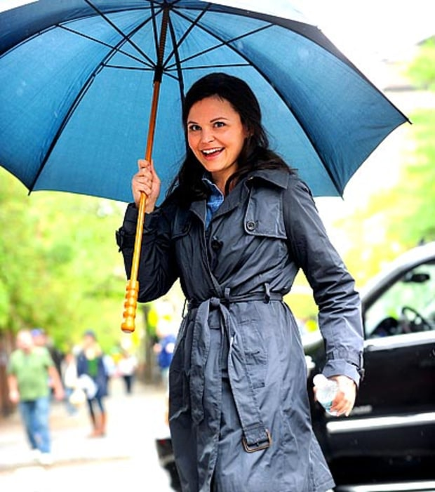 Ginnifer is Under Her Umbrella