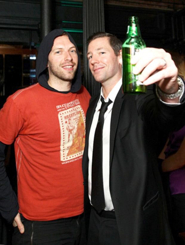 Chris Martin and Ed Burns
