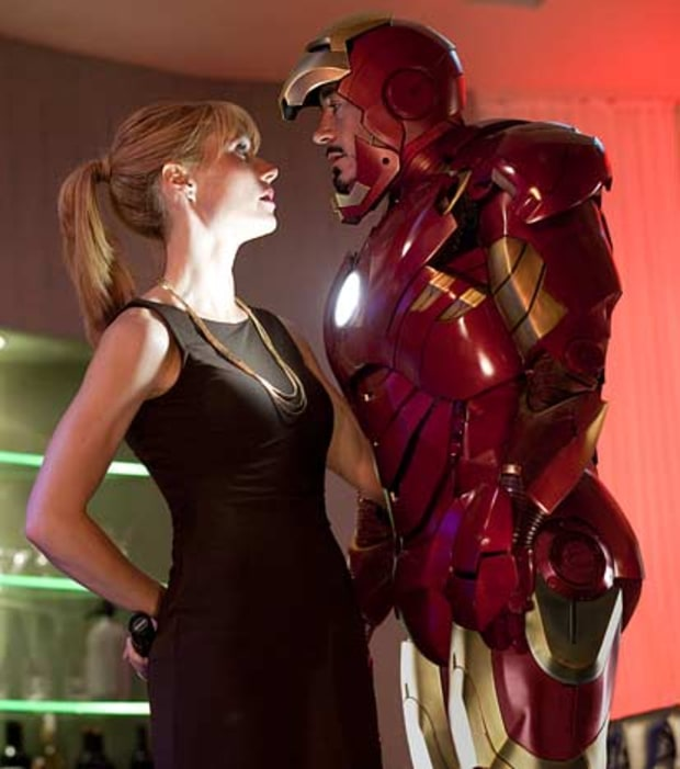 Gwyneth Paltrow & Robert Downey, Jr., Iron Man 2