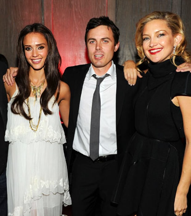 Jessica Alba, Casey Affleck and Kate Hudson