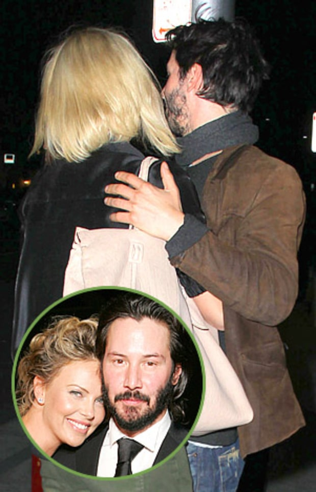 Charlize and Keanu
