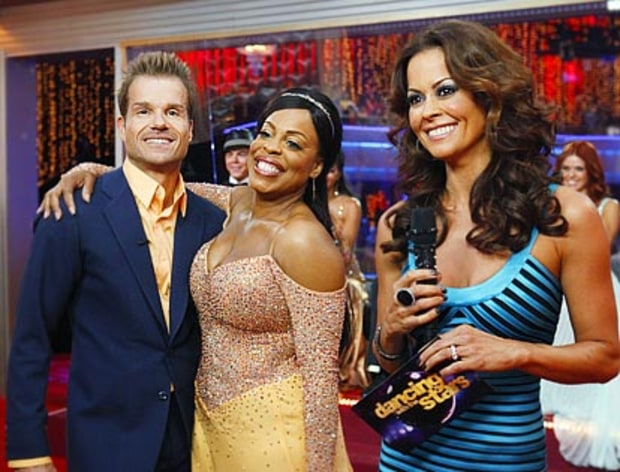 Louis van Amstel, Niecy Nash and Brooke Burke
