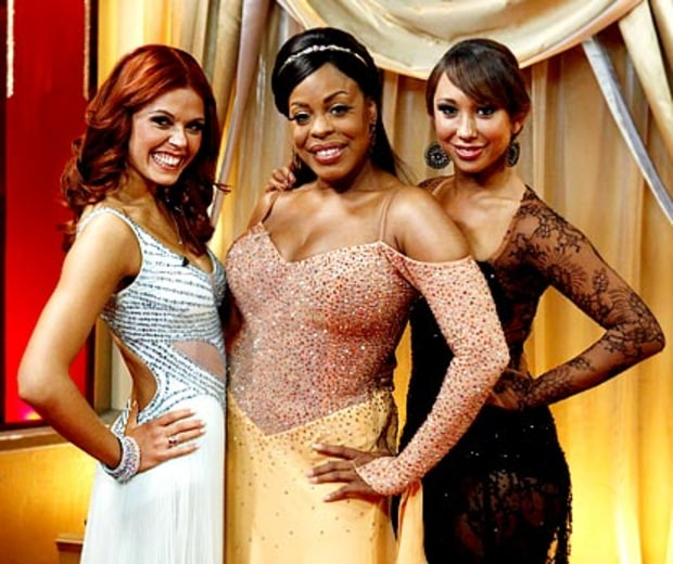 Anna Trebunskaya, Niecy Nash and Cheryl Burke