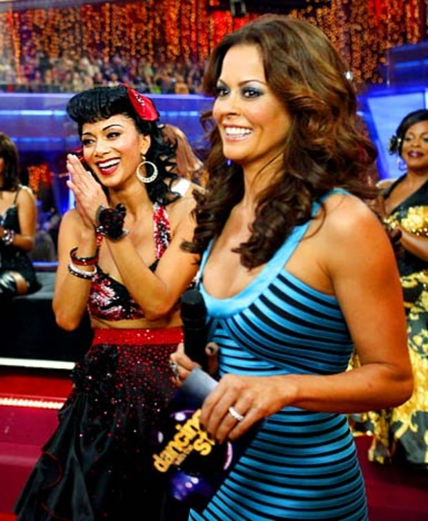 Nicole Scherzinger and Brooke Burke