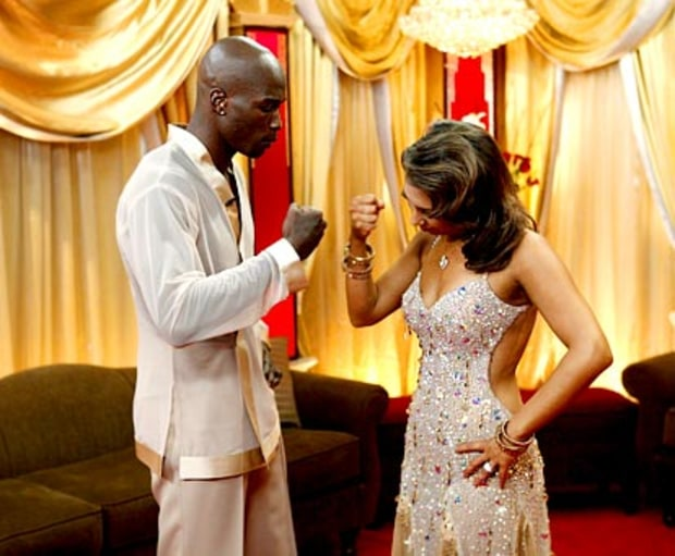 Cheryl Burke and Chad Ochocinco